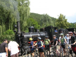Teilnehmerinnen vor Kuckucksbahn